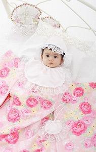 京都丸紅から松田聖子さんプロデュースの新生児用着物