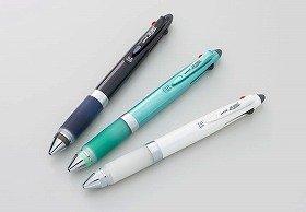 「uni α-gel(アルファゲル)多機能ペン」にシャイニーカラー追加 三菱鉛筆