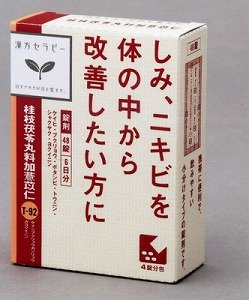 体内の血行を良くして肌のトラブルを改善  「漢方桂枝茯苓丸料加ヨク苡仁エキス錠」クラシエ薬品