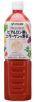 美容と健康をサポート。「ヒアルロン酸とコラーゲンの野菜」 伊藤園