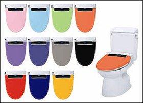 プチリフォームで明るくポップなトイレに INAX「PASSO Colors」(写真の便器・タンクは別売品)