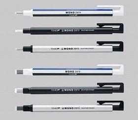 本体デザインは3種類 トンボ鉛筆「MONO ZERO」