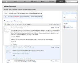 米アップル「Apple Discussion」でも同様のトラブルの報告が世界中から相次いでいる