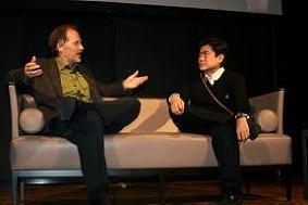 インタビューは「Web2.0 EXPO Tokyo」基調講演の直後に行われた