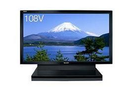 夏普开发的108V型液晶电视机