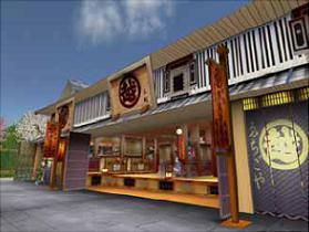 三越の仮想店舗「三越セカンドライフ店」(イメージ)