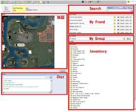 ブラウザからの「セカンドライフ」へのアクセス画面
