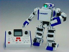 タカラトミーが発売する二足歩行人型ロボット「Omnibot17μ i-SOBOT」