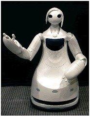 トヨタ自動車が開発した「施設案内ロボット」