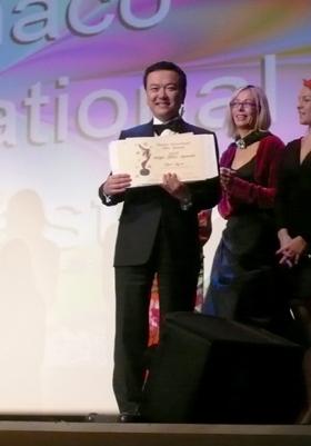 モナコ国際映画祭でグランプリを獲得