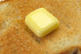 バターの在庫は通常の2倍になっている