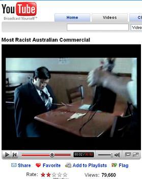 YouTubeには「日本人に銛打っても許される」ともとれる豪州の映像が・・・