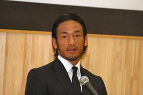 中田英寿さんは「試合に出る準備はしている」と語った