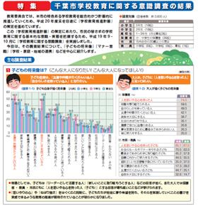 千葉市の教育委員会は、市内小中高生の意識調査を発表した