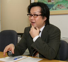 「ブログ」の将来を語る井上トシユキさん
