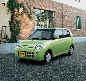 日産はスズキから軽自動車の供給を受けている(写真は日産「ピノ」)