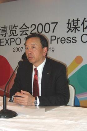 強気の戦略をたてるキヤノン(中国)の小沢社長
