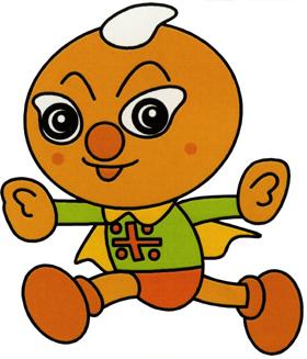 新潟県では新キャラクター「コメパンマン」が米粉利用を呼びかける