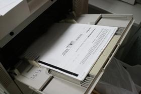 プリンターの裏紙の使用は故障の原因?