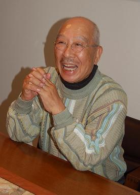 横澤彪さんを追悼する書き込みが相次いでいる(2008年撮影)