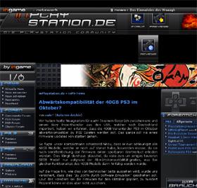 SCEのエミュレータ開発を報じたサイト