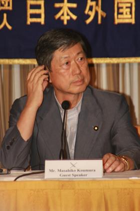 「国交正常化は北朝鮮次第」と高村外相