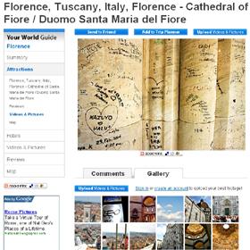 日本人と見られる落書きが複数ある壁の写真をアップした海外のサイト