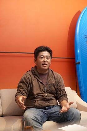 保釈後に撮影された最近の堀江貴文さん