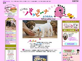 犬版の幼稚園として話題「パッピーナようちえん」のHP