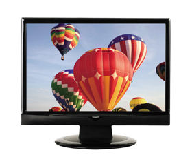 ネットで400台が完売した「ミスターマックス」の19型液晶テレビ。追加販売を予定している