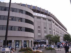 松井選手が活躍するヤンキーススタジアム