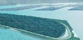 東京港の玄関口にできる予定の「海の森」は東京ドーム19個分に相当する