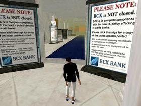 なかには投資家への説明を入り口に掲げる仮想銀行もある