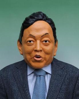 鳩山由紀夫首相がモデルの「平和の鳩山くん」