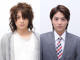 映画で主役を演じる小池徹平さん。ニート時代(左)と就職後