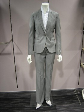 Nearly 20 different designs of pants for suits to be introduced in spring and summer of 2009 at