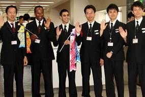 JAL初の試みだという