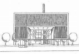 「国立メディア芸術総合センター(仮称)」のイメージ図(文化庁報告書より)
