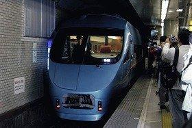 ブルーリボン賞に選ばれた小田急電鉄のロマンスカー・MSE
