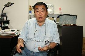 ケータイなどで進めている取り組みについて「ノーモア地上波」と語る梨元勝さん