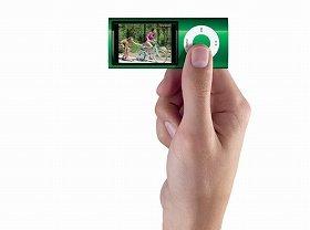 指の長さほどの新型iPod nano