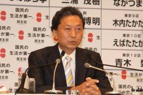 モバゲーの「好きな党首」調査で1位になった鳩山由紀夫首相
