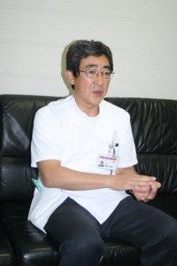 櫻井教授は「陽子線で病巣だけを狙って治療できる」と語る