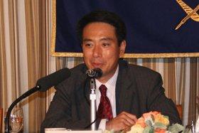 「元首相の働きかけがあった」という前原誠司国交相(写真は2007年8月撮影)