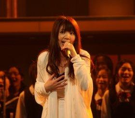 「いきものがかり」のボーカル、吉岡聖恵さん