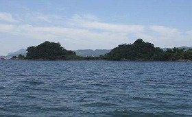 瀬戸内海に浮かぶ「三ツ子島」