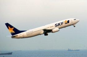 スカイマークはボーイング737-800型機を12機運航している