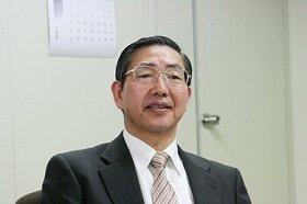 「制度を知ってもらい、一人でも多く加入してほしい」と話す松本理事長