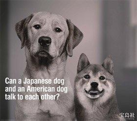 アメリカで掲載された宝島社の企業広告