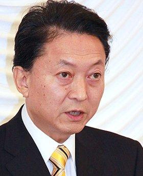 厳しい状況が続く鳩山首相(09年12月撮影)